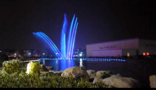 广东中烟音乐喷泉