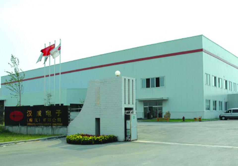南京汉城电子厂区工程