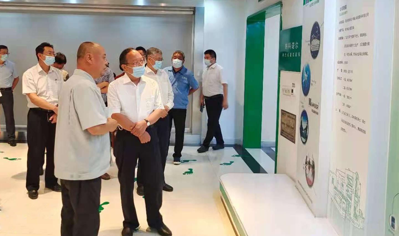 河北省人大副主任周仲明到納科諾爾公司調研
