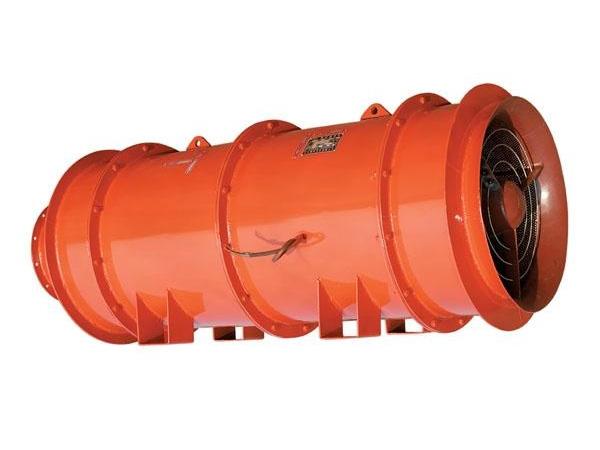 FBD系列礦用防爆壓入式對旋軸流局部通風機
