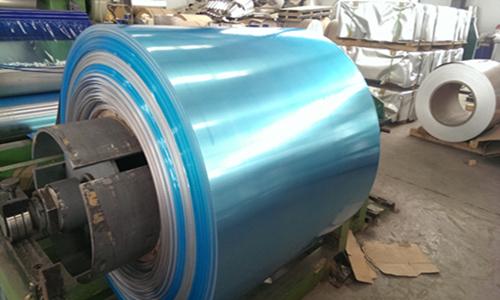 覆膜鋁卷(藍色)