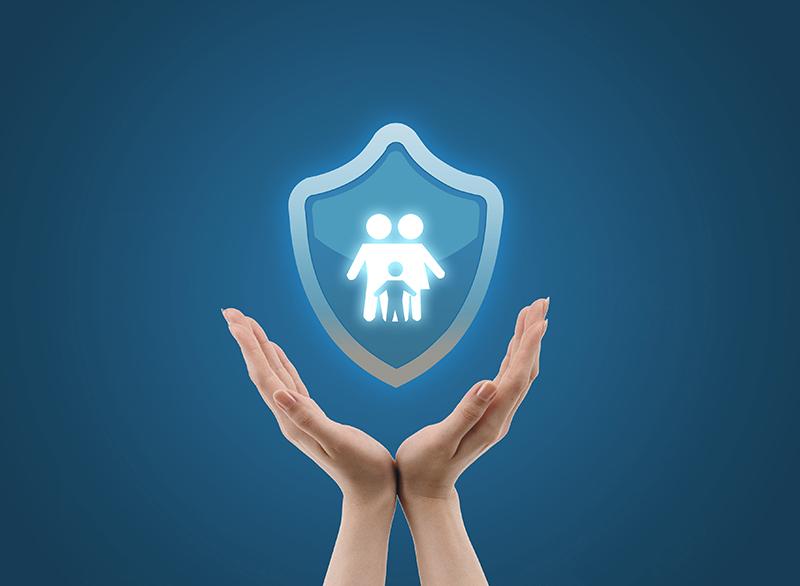 攝圖網_500585633_家庭保險(非企業商用)