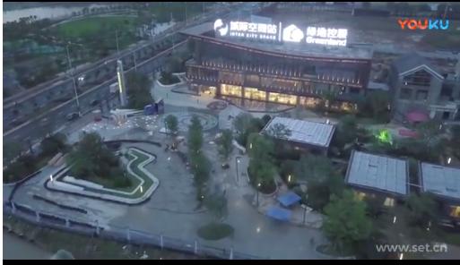 阳江高铁站音乐喷泉