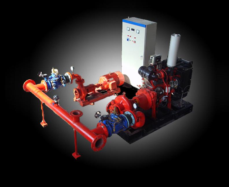 消防雙動力給水設備