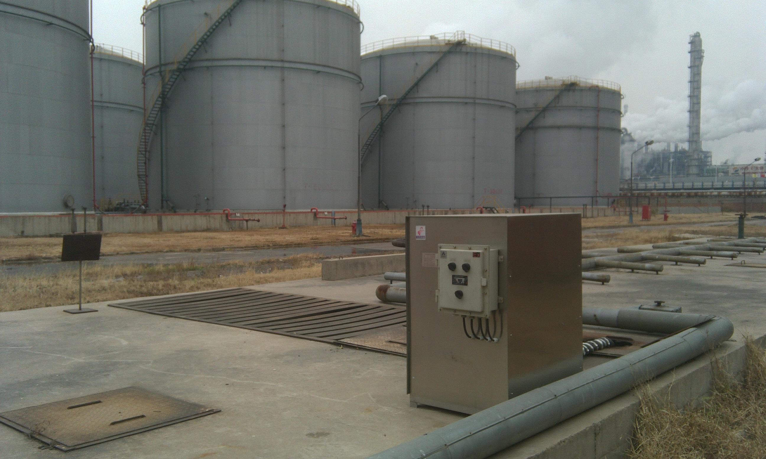 渦旋浮油收集器  (1)