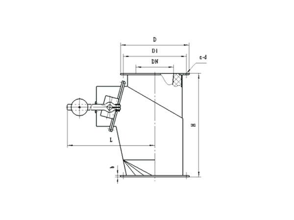 GWSF-Ⅰ高溫翻板卸灰閥