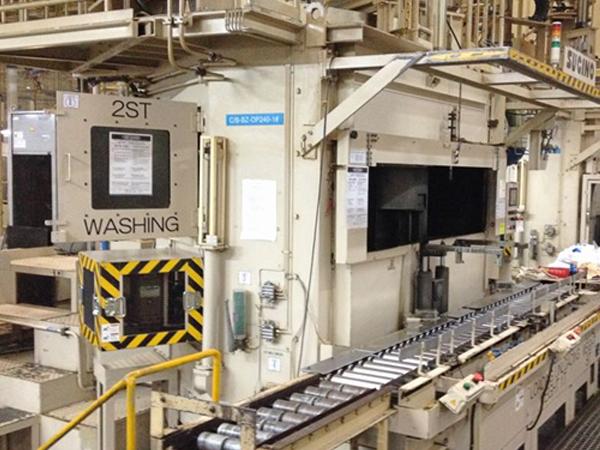 長安馬自達發動機缸體,缸蓋:中間、最終清洗機改造