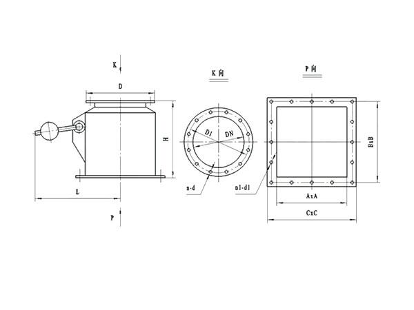 ZFX-H錐形鎖風閥