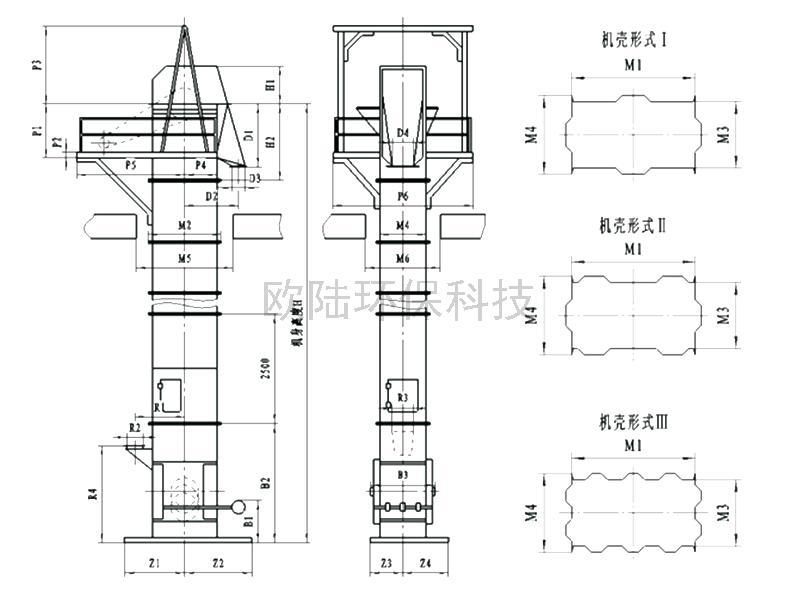 N(S)E型板鏈式提升機