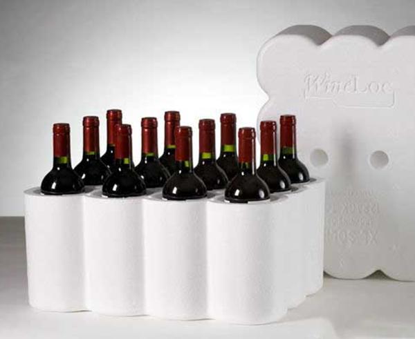 紅酒泡沫箱