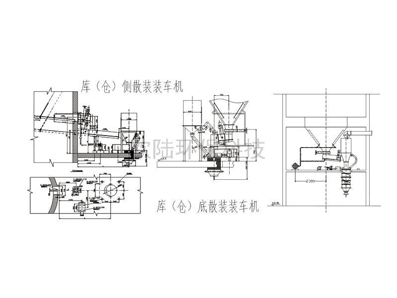 OLSZ250型(水泥)粉體汽車散裝裝車機