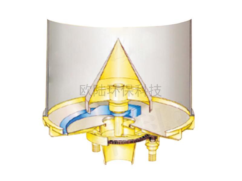 錐體型筒倉卸料器