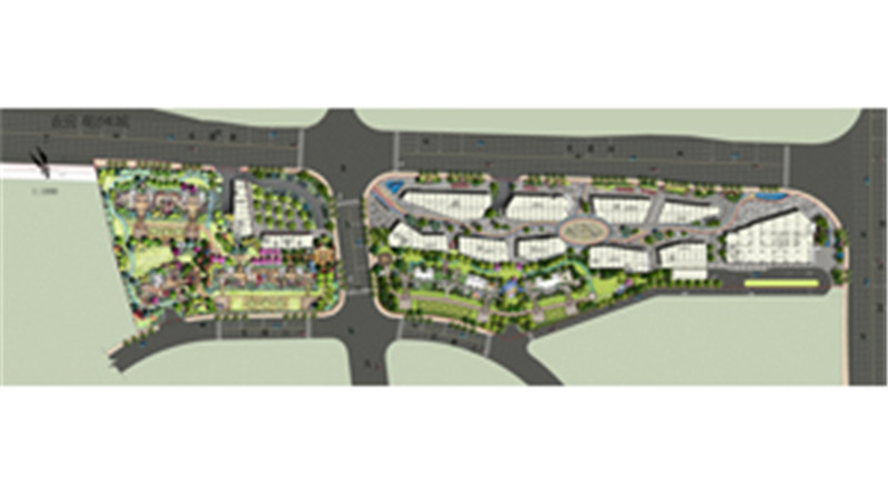 长沙观沙E城景观设计