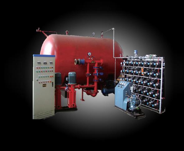消防氣體頂壓給水設備