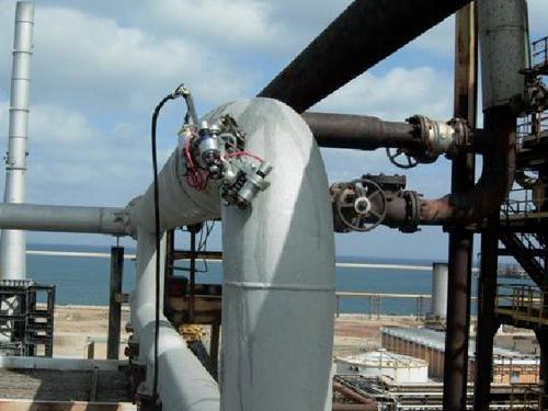 自动爬行管道壁厚腐蚀超声检测系统