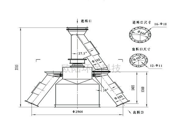 XZF-A6旋轉分料器