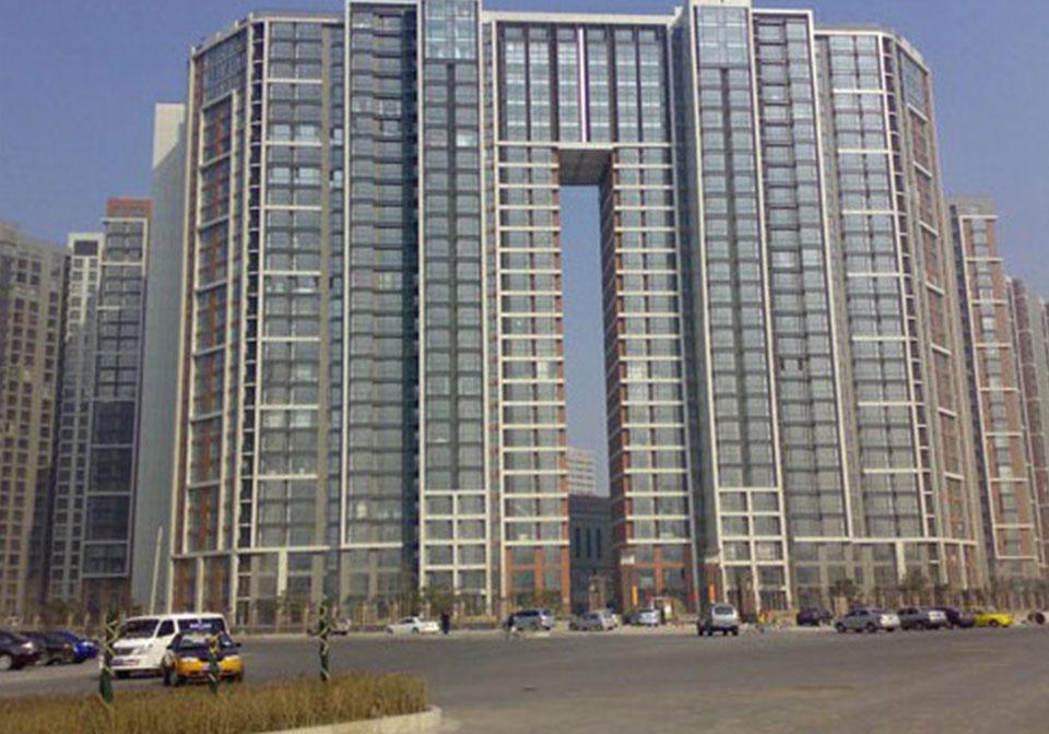 望京新城住宅楼工程