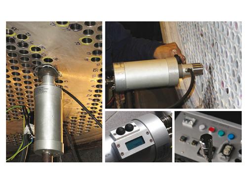 管板焊縫檢測系統