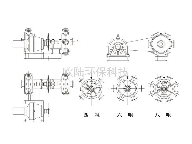 回轉式空氣分配器