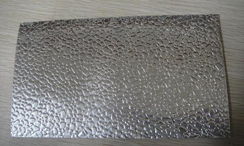 鵝卵石花紋板(正面)