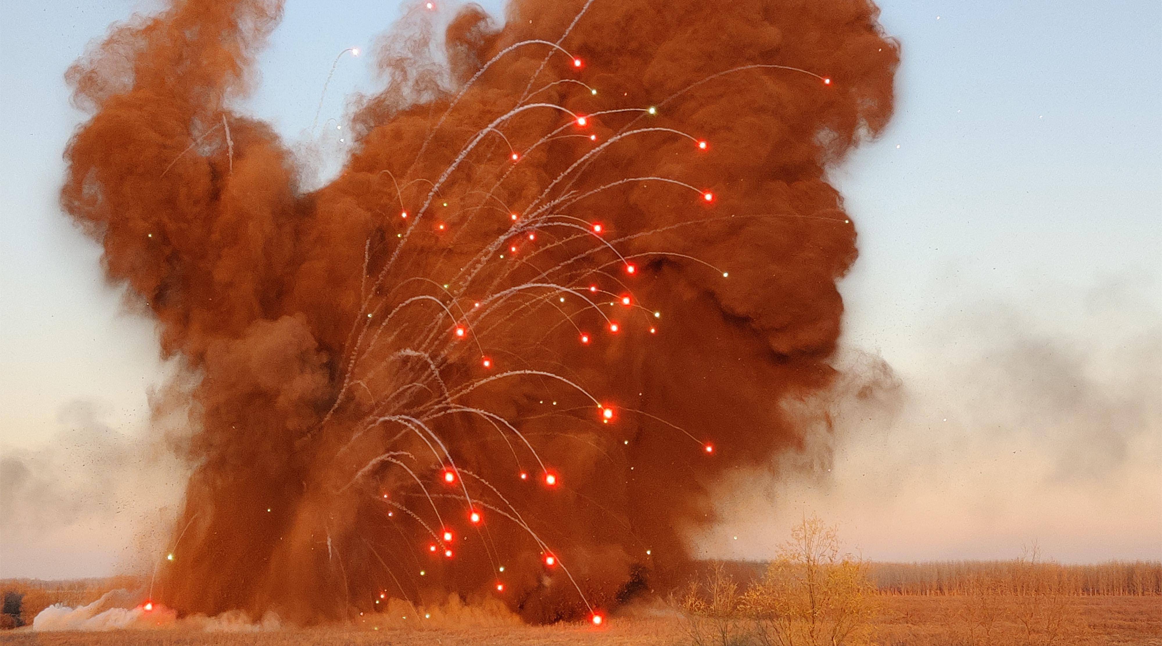 爆炸危险源消除与废旧弹药销毁