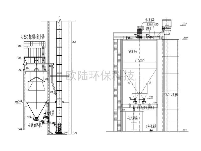 熱電有限公司2X300MW機組煙氣脫硫項目
