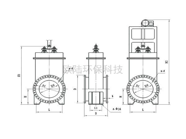 CGzY---1350(F)超高溫閘閥(風冷)