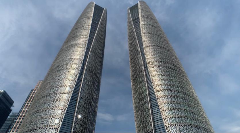 天府国际金融中心双塔